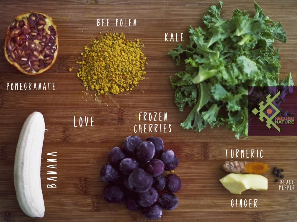 kale-cherry-pollen-green-smoothie-second-nature
