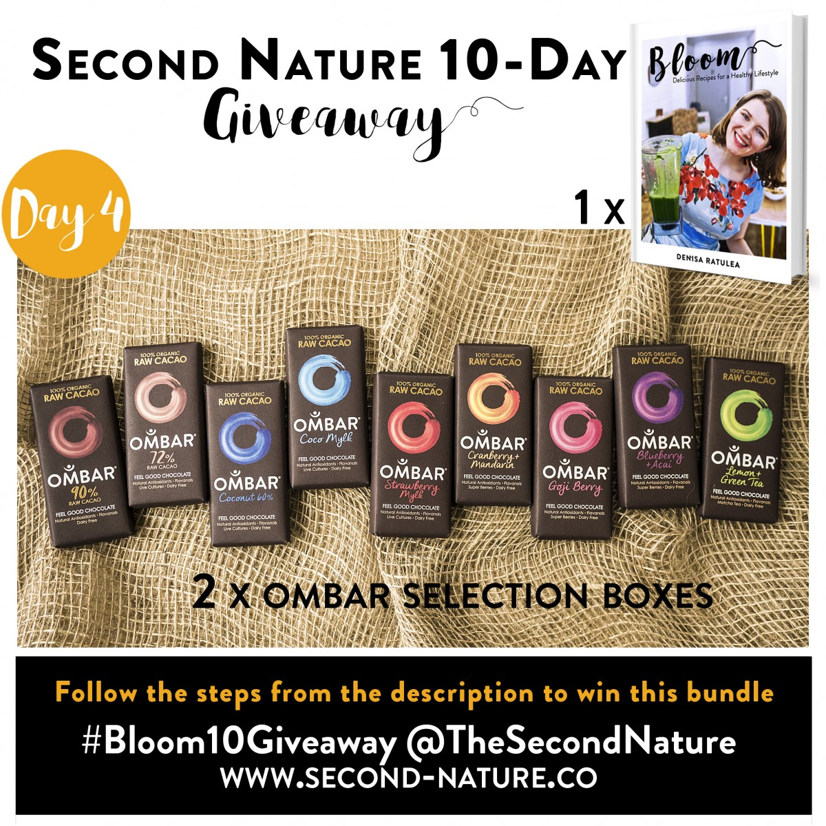 Second Nature - Bloom Cookbook 10 Giveaway