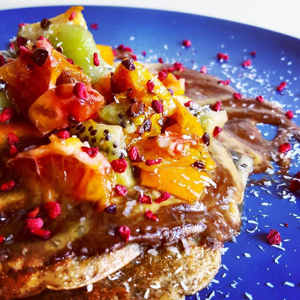 vegan-pancake-stack