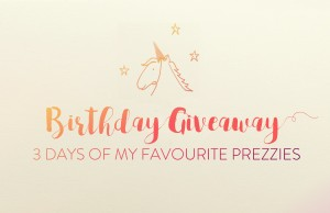 giveaway birthday