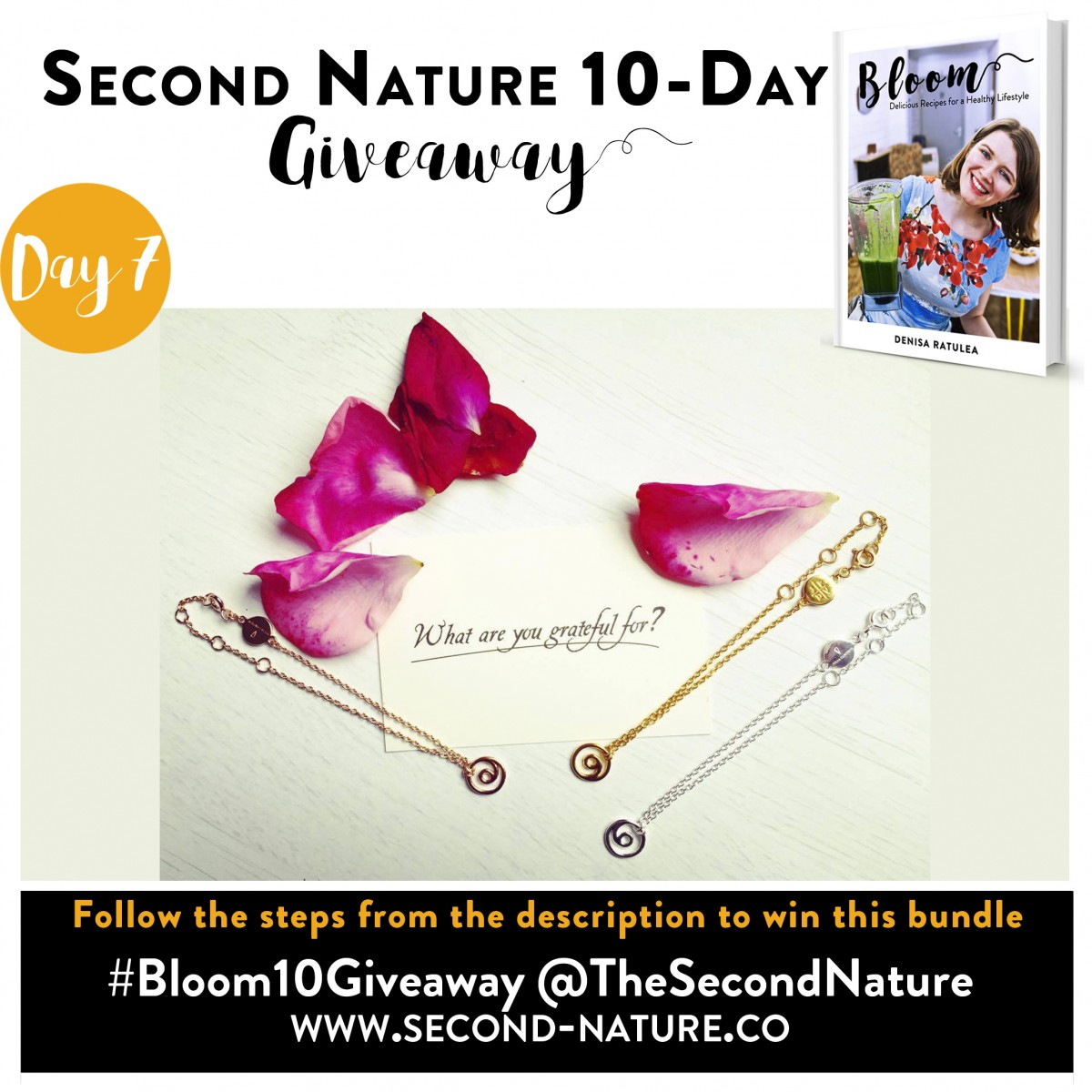 Second Nature - Bloom 10 Giveaway