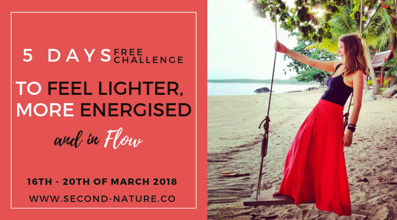 Feel Lighter, More Energised and In Flow - 5 Day challenge